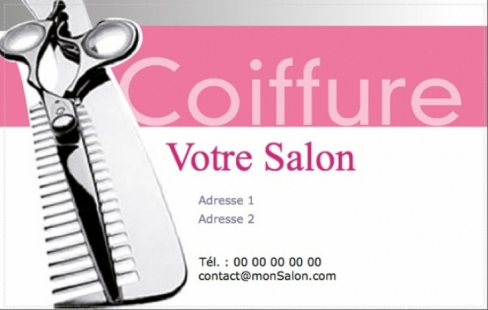 Carte De Visite Salon