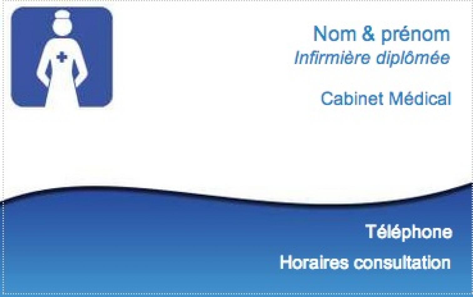 Carte De Visite Infirmiere