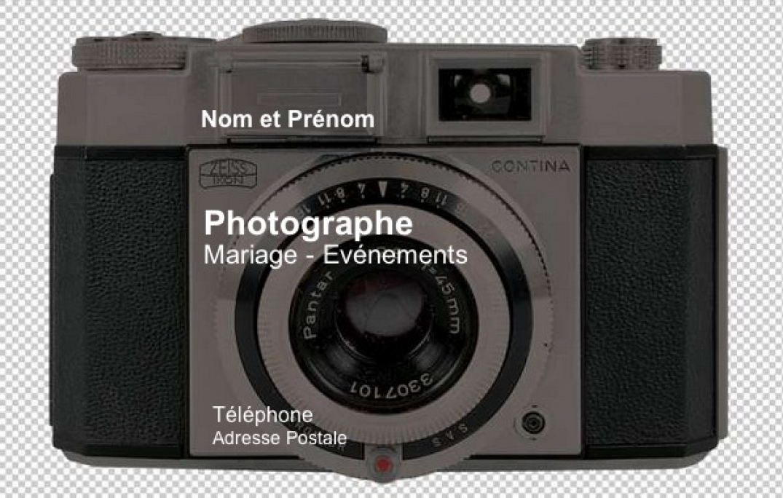 Carte de visite photographe mod le gratuit imprimer fond app photo - Carte de visite gratuite a imprimer chez soi ...